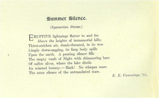 Ee Cummings Love Poems 5