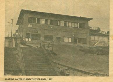 old newspaper photo of Marine